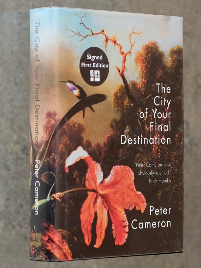 The City of Your Final Destination Signed 1st