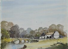 Original Ian Baxter Watercolour Painting