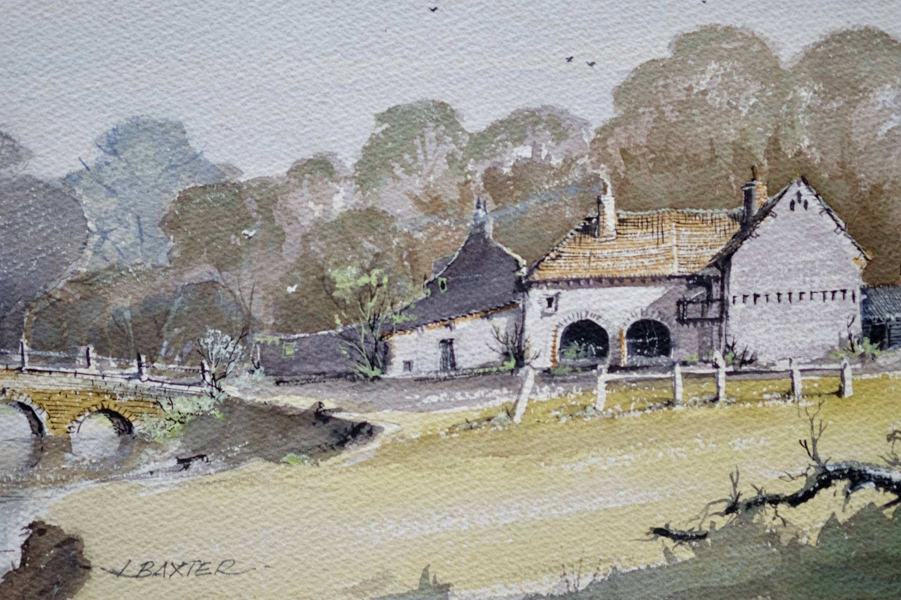 Farmhouse and Bridge