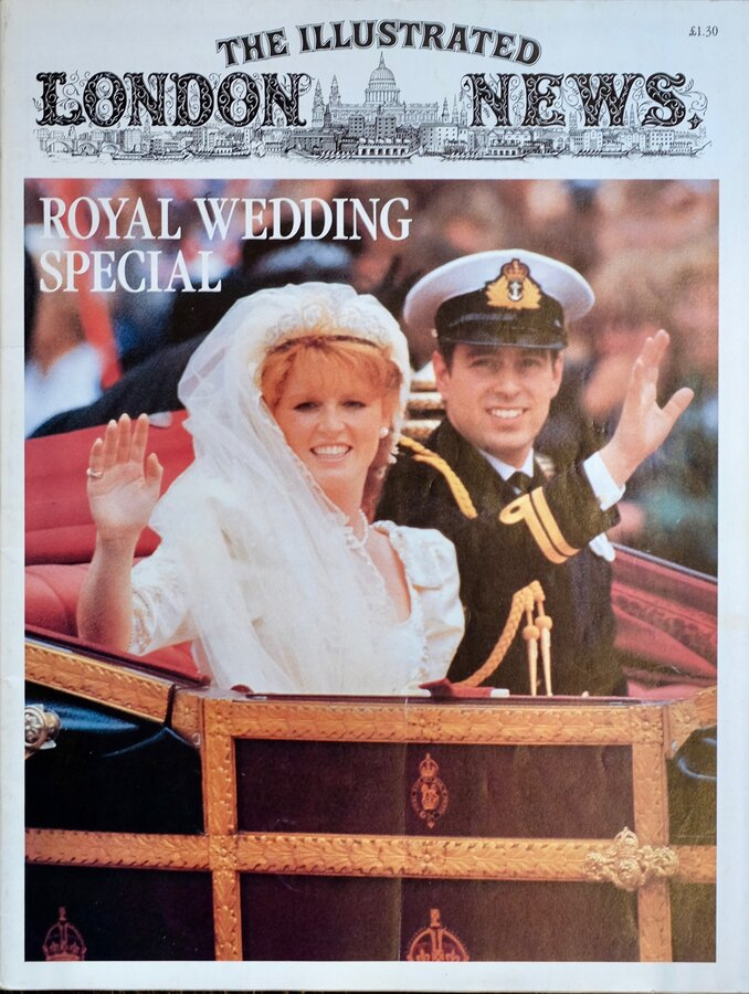 Illustrated London News Royal Wedding Special
