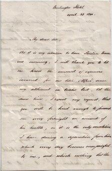 Billheads & Correspondence