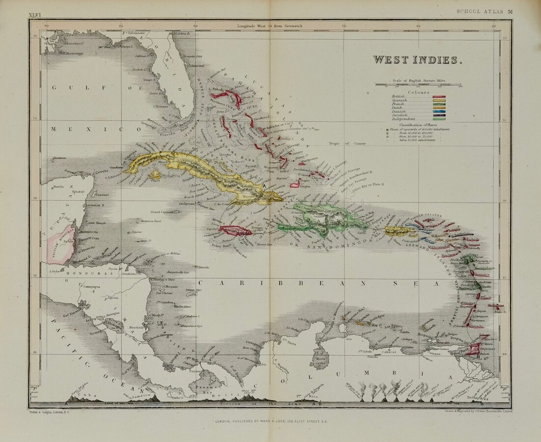 West Indies by Dower