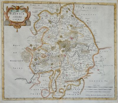 Warwickshire Maps