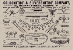 Ad. Goldsmiths Jewellery 1897