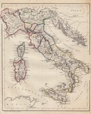 Italy, Sicily, Sardinia & Corsica. Becker