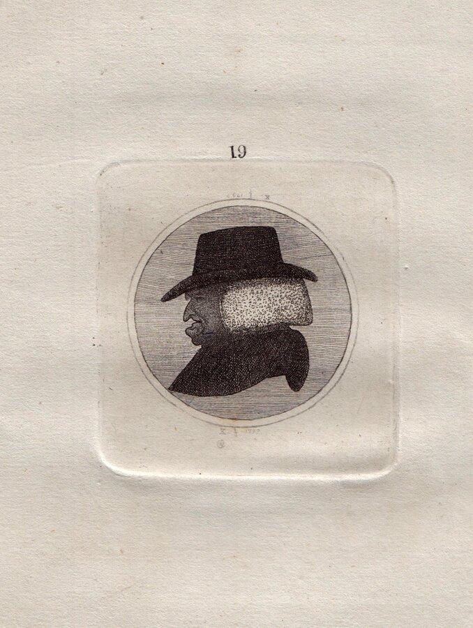 James Burnett. Reverse head.