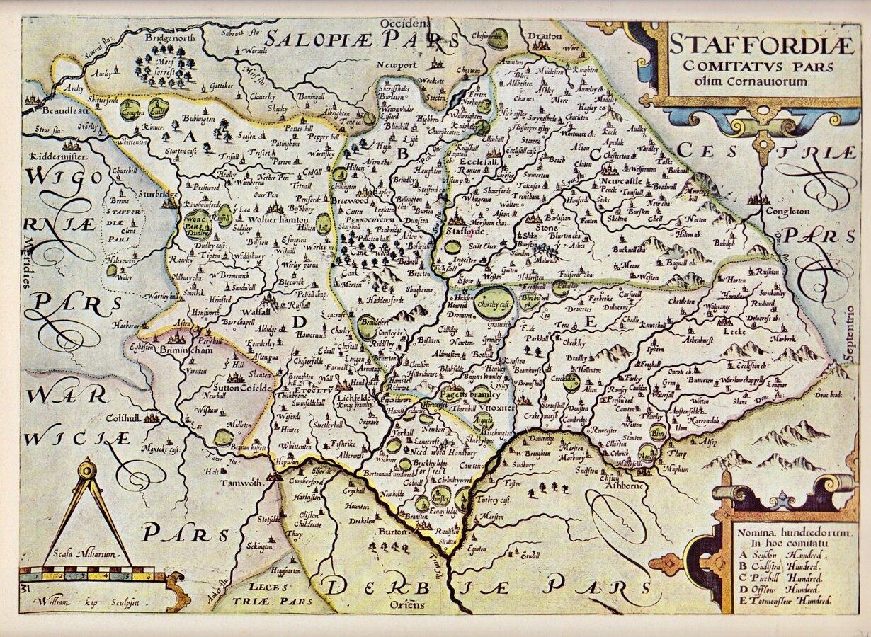 Repro Maps Bundle West Midlands