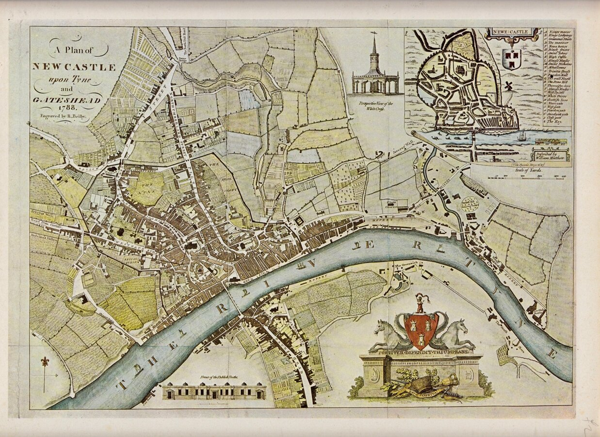 Repro Maps Bundle North East England