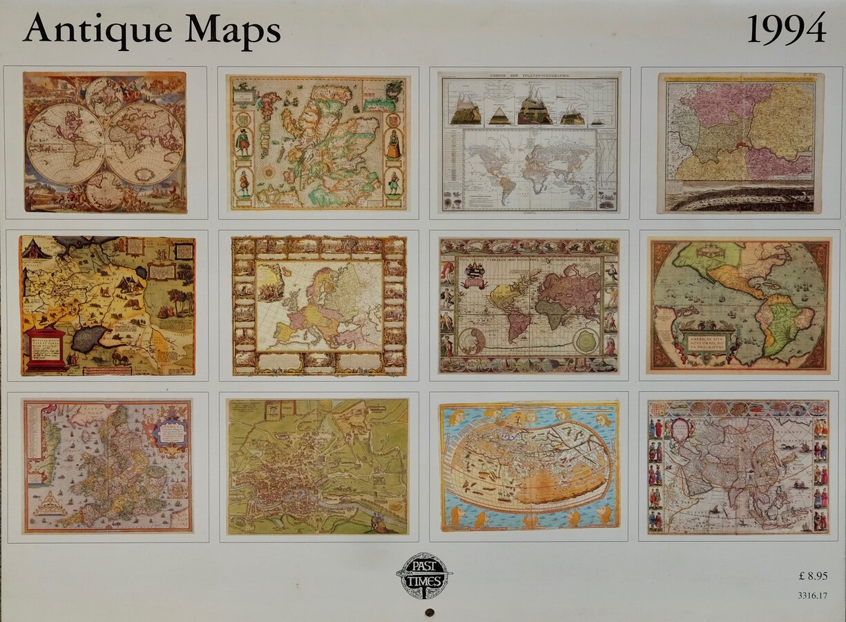 Calendar Antique Maps 1994
