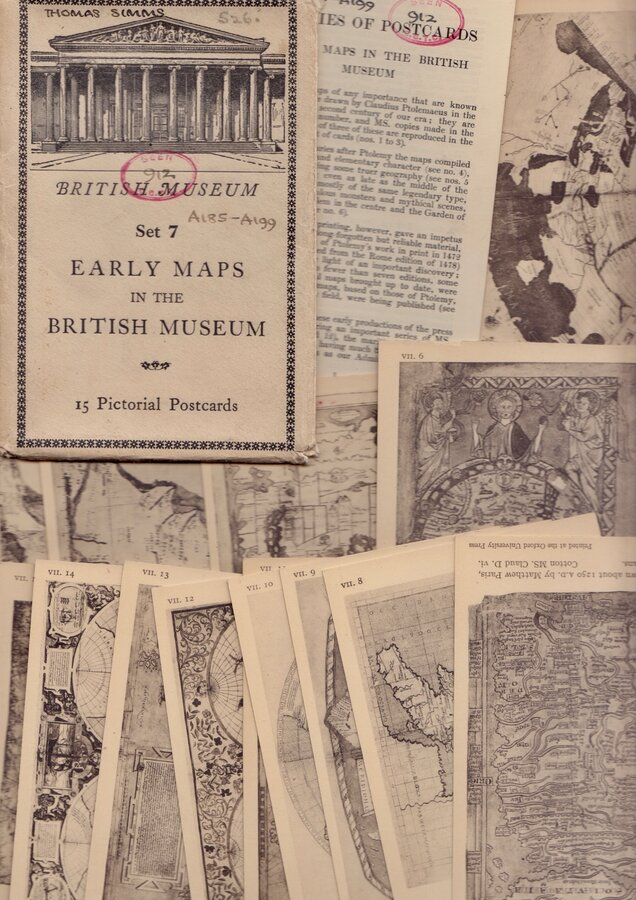 British Museum Early Map Cards