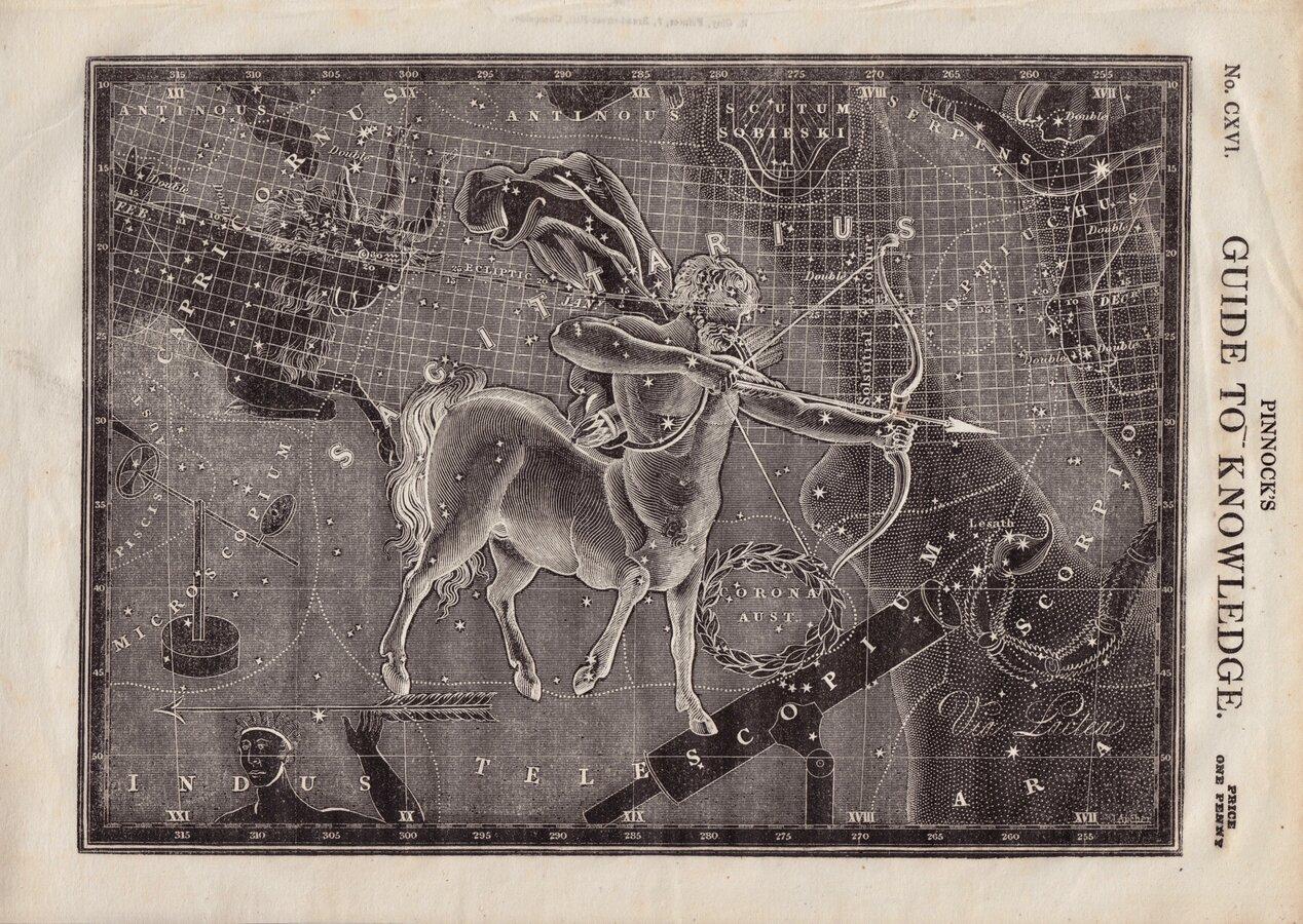 Star Chart Sagittarius
