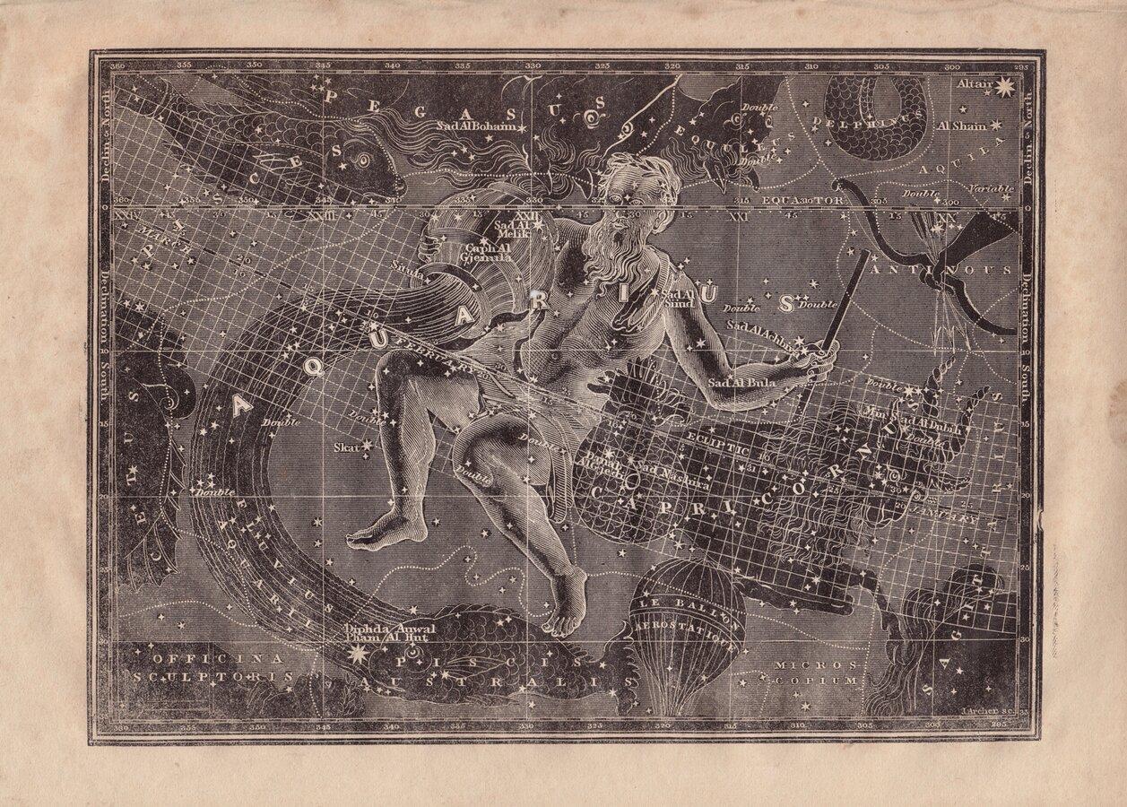 Star Chart Aquarius