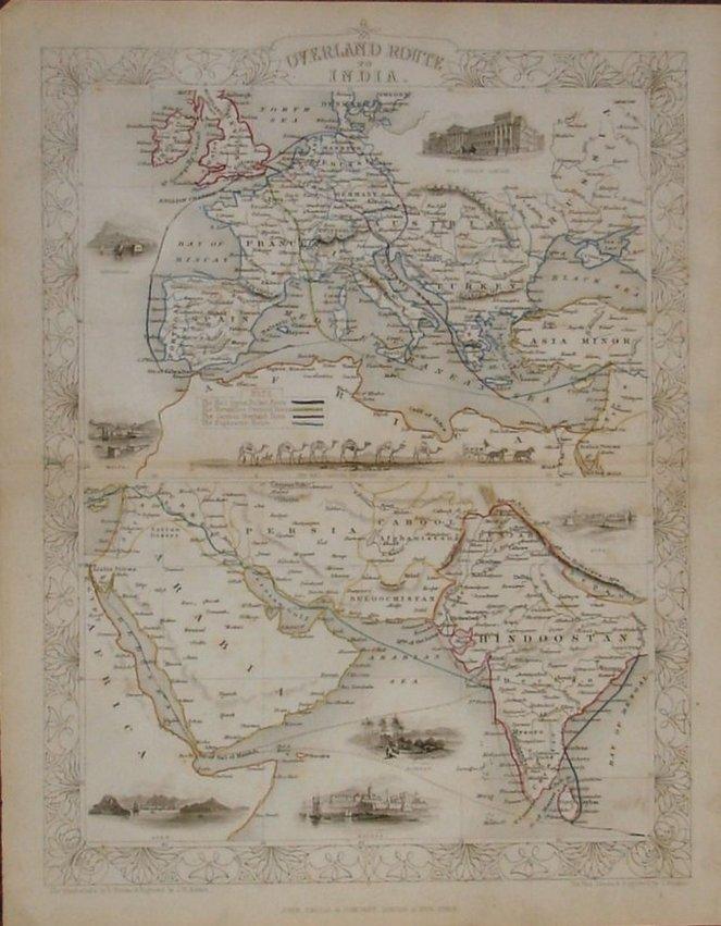 India Routes - Tallis