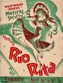 Westwood Works Rio Rita Programme