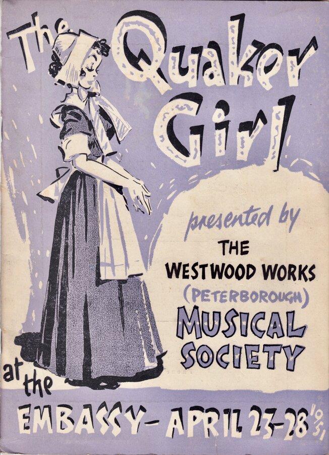 Westwood Works Quaker Girl Programme