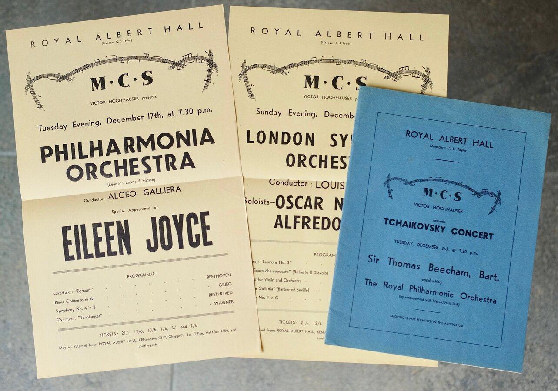 Concert Programme Beecham