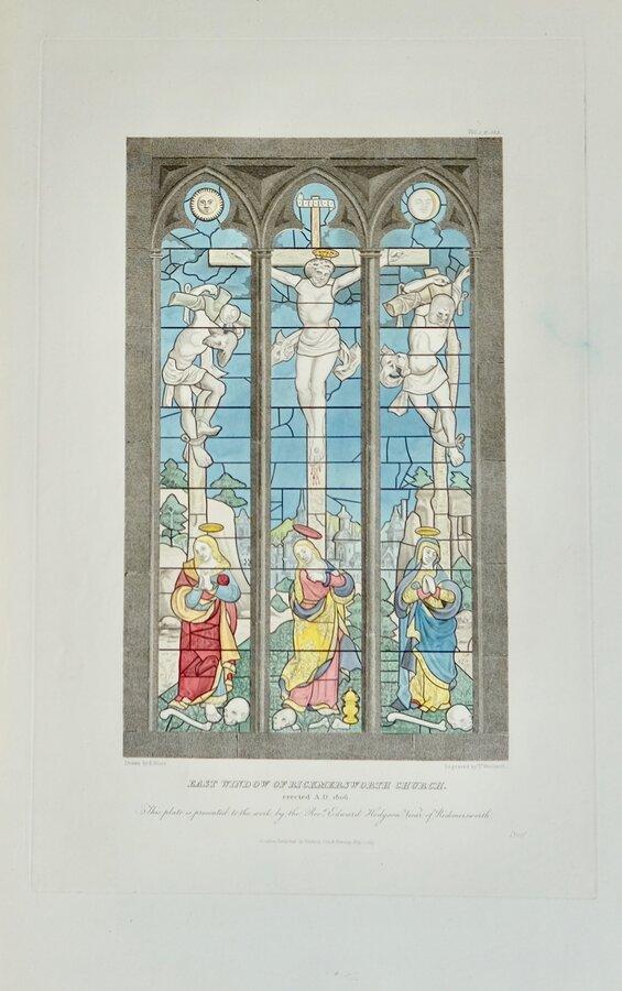 Window Rickmansworth Church