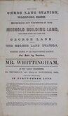 George Lane, Woodford