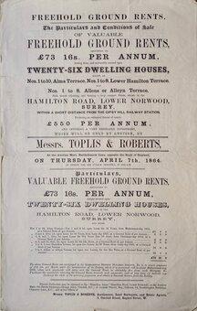 Property Sales, Acts & Deeds
