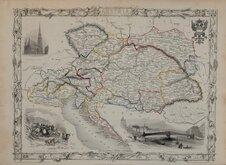 Austria by Rapkin