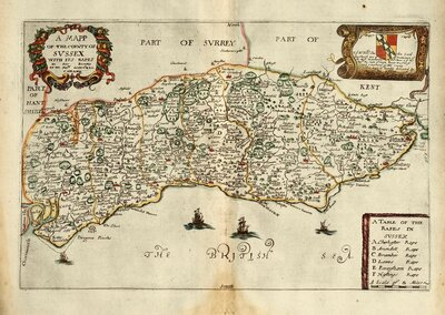 Sussex Maps