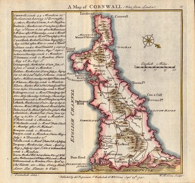 Cornwall Maps