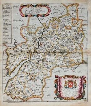 Gloucestershire Maps
