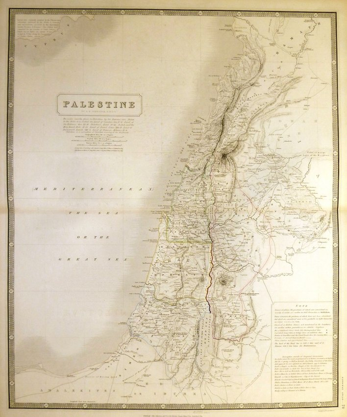 Palestine by Johnston