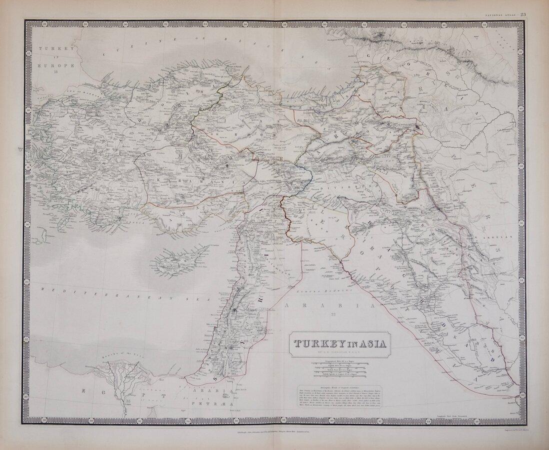 Turkey in Asia by Johnston