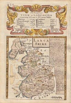 Lancashire Maps