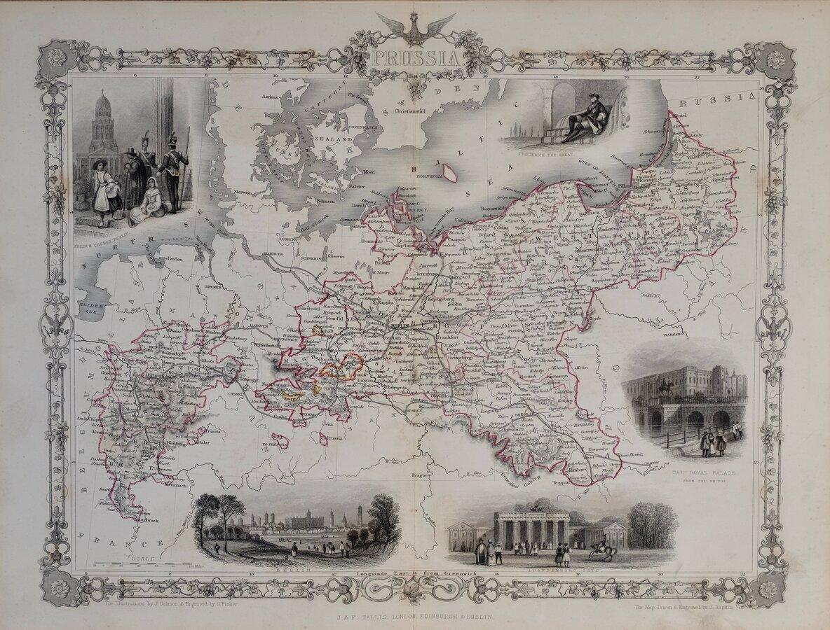 Prussia by Rapkin
