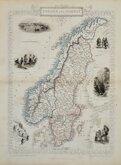 Sweden & Norway by Rapkin.